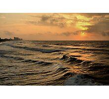 Off Shore Storm Photographic Print