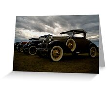Old Fords Greeting Card