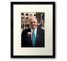 Governor Ed Rendell Framed Print