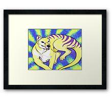 Thylacine Framed Print