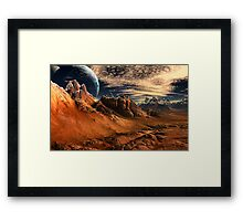 Glosstmass Barrens Framed Print