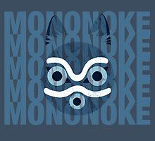 Princess Mononoke Blue by sierrawheeler