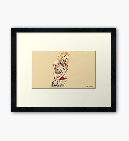 Minty Menzies Framed Print