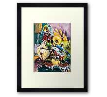 """Jazz no. 4 - The Unforgettable """"French Quarter""""  Framed Print"""