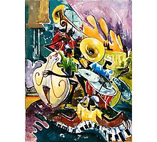 "Jazz no. 4 - The Unforgettable ""French Quarter""  Photographic Print"