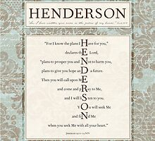 Henderson in the Word by Colleen Marquez