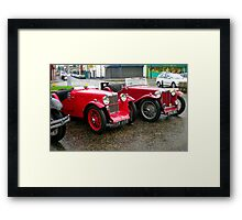 """""""Red is the colour...... Framed Print"""