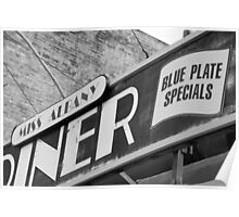 Blue Plate Special Poster