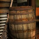 Old Barrel and Broom ~ Monte Cristo by Rosalie Dale
