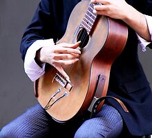 Classical Guitarist by Natalie Ord