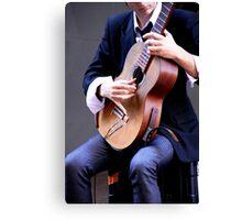 Classical Guitarist Canvas Print
