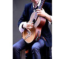 Classical Guitarist Photographic Print