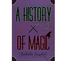 A History Of Magic Photographic Print