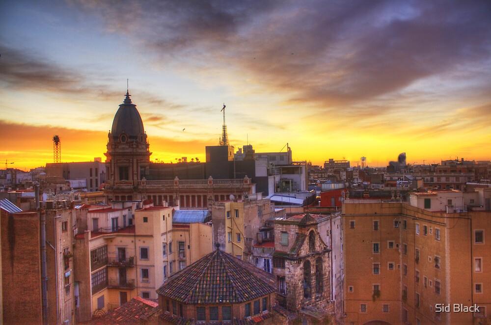 Barcelona Sunrise by Sid Black