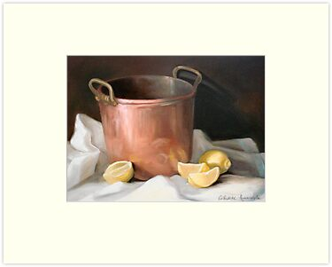 Helen's Copper Pot by Cathy Amendola