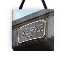 Into the World of Fantasy Tote Bag