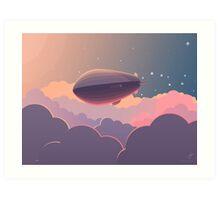 Airship Art Print