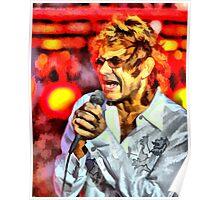 Mickey Thomas - Lead singer Starship Poster