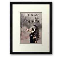 Bones of The Earth Framed Print