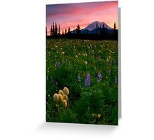 Alpine Garden Greeting Card