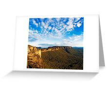 Clouds over Narrowneck Greeting Card