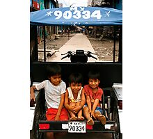People 0600 (Iquitos, Peru)   Photographic Print