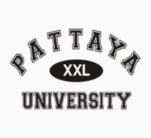 Pattaya University by Thaitee