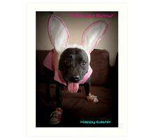 Happy Easter Art Print