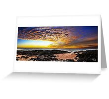 Rocky Point Panorama Greeting Card