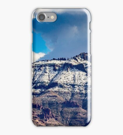 Supes in Winter-2 iPhone Case/Skin