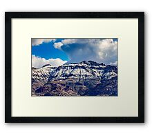 Supes in Winter-2 Framed Print