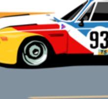 BMW 3.0 CSL Art Car Alexander Calder (1975) Sticker