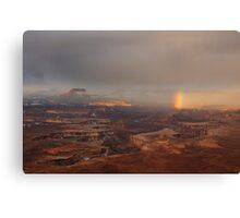Rainbow over Canyonlands Canvas Print