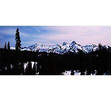 Tatoosh Mountain Range Photographic Print
