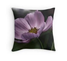 Moonlit Cosmos Throw Pillow