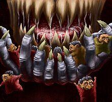 Wolf's Dinner by Matt Katz