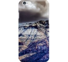 Supes in Winter-1 iPhone Case/Skin