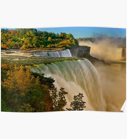 Sunrise Over Niagara - Niagara Falls Poster