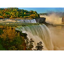 Sunrise Over Niagara - Niagara Falls Photographic Print