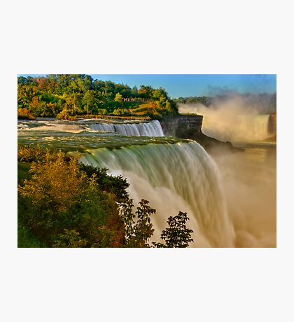 Sunrise Over Niagara - Niagara Falls Photographic Print