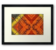 Triangled  Framed Print