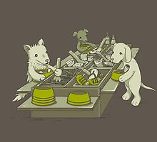 Dog Buffet by Lili Batista