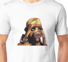 Gasmasks left Unisex T-Shirt