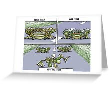 toads Greeting Card