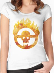 mad max fury road wheel Women's Fitted Scoop T-Shirt