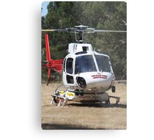 Firebomber Helicopter Metal Print