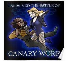 The Battle of Canary Worf Poster