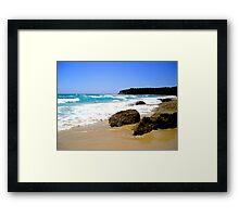 Sun, Surf & Sky Framed Print