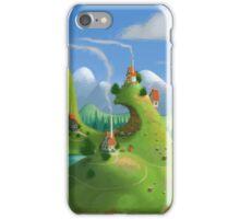 Mountain Village iPhone Case/Skin