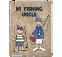 Number #1 Fishing Uncle iPad Case/Skin
